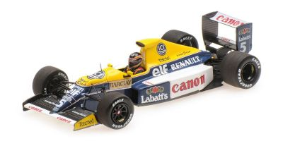 MINICHAMPS 1/43scale WILLIAMS RENAULT FW13B – THIERRY BOUTSEN – 1990  [No.437900005]