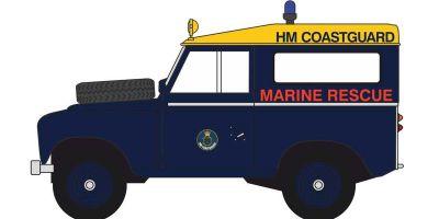 OXFORD 1/43scale Land Rover Series 3 SWB Station Wagon HM Coastguard  [No.OX43LR3S007]