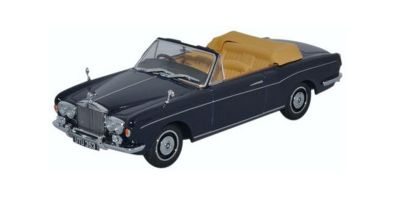 OXFORD 1/43scale Rolls-Royce Corniche convertible Indigo Blue  [No.OX43RRC001]