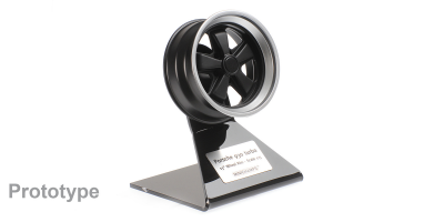 MINICHAMPS 1/5scale Porsche 930 Turbo Wheel 1976 Black / Silver  [No.500601930]