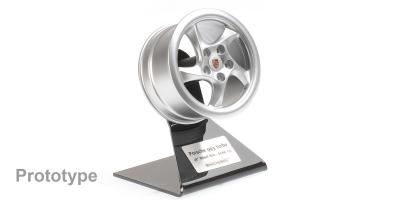 MINICHAMPS 1/5scale Porsche 993 Turbo Wheel 1995 Silver  [No.500601993]