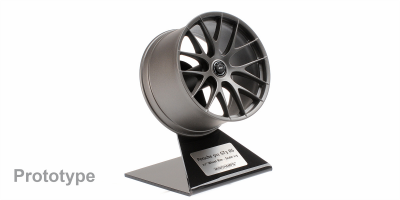 MINICHAMPS 1/5scale Porsche GT3 RS Magnesium Wheel 2020 Platinum Satin  [No.500603991]