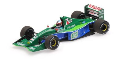 MINICHAMPS 1/43scale JORDAN FORD 191 – MICHAEL SCHUMACHER – BELGIAN GP 1991  [No.510914301]