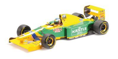 MINICHAMPS 1/18scale Benetton Ford B193 M Schumacher Germany GP1993  [No.510932805]