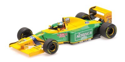 MINICHAMPS 1/43scale BENETTON FORD B193B – MICHAEL SCHUMACHER – WINNER PORTUGUESE GP 1993  [No.517935705]