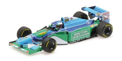 MINICHAMPS 1/43scale BENETTON FORD B194 - MICHAEL SCHUMACHER - WINNER MONACO GP 1994 L.E. 504 pcs.  [No.517940405]