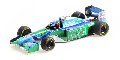 MINICHAMPS 1/43scale Benetton Ford B194 Michael Schumacher Canadian Grand Prix 1994 Winner  [No.517940605]