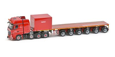 IMC Models 1/50scale Mercedes-Benz Actros 2 Giga space 8 × 4 Nooteboom ballast trailer 6-axis  [No.IMC5274995]