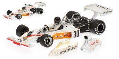 MINICHAMPS 1/43scale MCLAREN FORD M23 YARDLEY – JACKY ICKX – GERMAN GP 1973  [No.530734331]