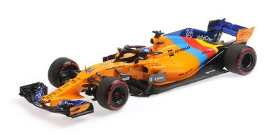 MINICHAMPS 1/18scale MCLAREN RENAULT MCL33-FERNANDO ALONSO-LAST F1 RACE-ABU DHABI GP 2018  [No.537183914]