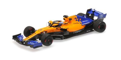 MINICHAMPS 1/43scale MCLAREN MCL34 – FERNANDO ALONSO – TEST BAHRAIN 2ND APRIL 2019  [No.537194314]