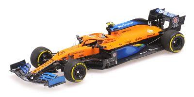 MINICHAMPS 1/43scale McLaren Renault MCL35 Lando Norris Italy GP 2020 4th place  [No.537205104]