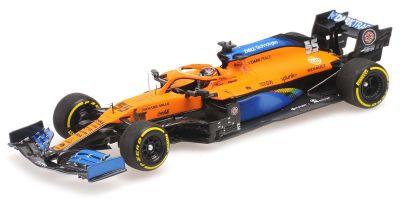 MINICHAMPS 1/43scale McLaren Renault MCL35 Carlos Sainz Jr. Italy GP 2020 2nd place  [No.537205155]