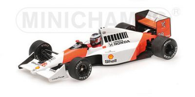 MINICHAMPS 1/43scale McLaren Honda MP4 / 5B Gerhard Berger Brazilian GP 1990 2nd place prize  [No.537904328]
