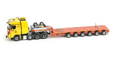 IMC Models 1/50scale Mercedes-Benz Arokusu big space 8 × 4 & Nooteboom 6 axle Multi-PX  [No.IMC5386877]