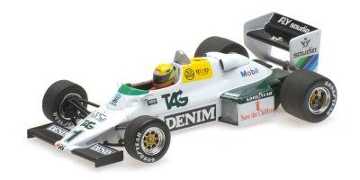 MINICHAMPS 1/43scale WILLIAMS FORD FW08C – AYRTON SENNA – DONINGTON PARK TEST 19TH JULY 1983 (Senna Collection)  [No.540834301]