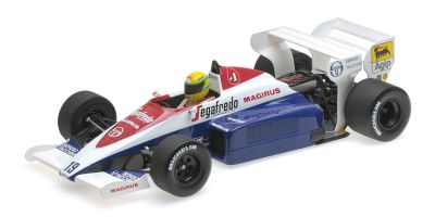 MINICHAMPS 1/18scale TOLEMAN HART TG184 – AYRTON SENNA – MONACO GP 1984 (Senna Collection)  [No.540841819]
