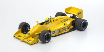 MINICHAMPS 1/18scale LOTUS HONDA 99T – AYRTON SENNA – WINNER MONACO GP 1987 L.E. 1000 pcs.  [No.540871892]