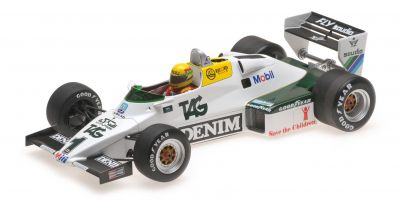 MINICHAMPS 1/18scale WILLIAMS FORD FW08C – AYRTON SENNA – DONINGTON PARK TEST 19TH JULY 1983 (Senna Collection)  [No.547831801]