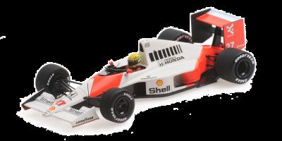 MINICHAMPS 1/43scale McLaren Honda MP4 / 5B Ayrton Senna German GP1990 Winner  [No.547904427]