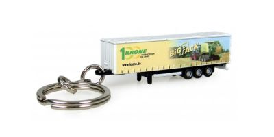 "UNIVERSAL HOBBIES Krone Trailer ""BigPack"" Decoration (Container) Keyring  [No.E5531]"