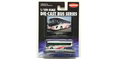 KYOSHO 1/150scale 西日本JRバス (いすゞガーラ ハイデッカ)  [No.59022]