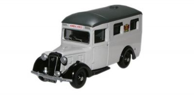 OXFORD 1/76scale Austin 18 ambulance car rail  [No.OX76AMB003]