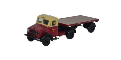 OXFORD 1/76scale BedFord OX Flatbed trailer British Rail  [No.OX76BD020]