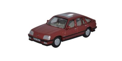 OXFORD 1/76scale Vauxhall Cavalier Carnelian Red  [No.OX76CAV002]