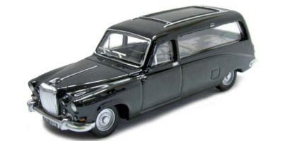 OXFORD 1/76scale Daimler DS420 Black Hearse  [No.OX76DS002]