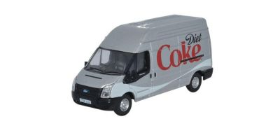 OXFORD 1/76scale フォード トランジットバン LWB ハイルーフ Diet Coke Silver [No.OX76FT019CC]