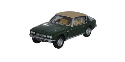 OXFORD 1/76scale Jensen Interceptor Auckland Green / Tan  [No.OX76JI008]