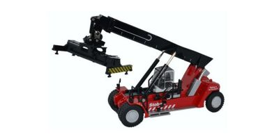 OXFORD 1/76scale Konecranes reach stacker Stobart  [No.OX76KRS005]