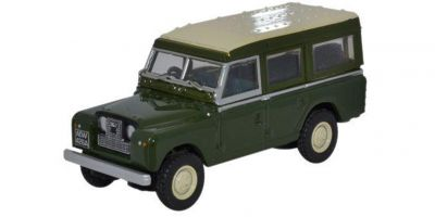 OXFORD 1/76scale Land Rover Series II Station Wagon (Bronze Green)  [No.OX76LAN202]
