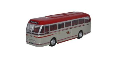 OXFORD 1/76scale Leyland Royal Tiger Coach Lough Swilly White [No.OX76LRT006]