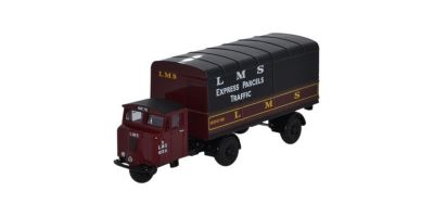 OXFORD 1/76scale Scammell Mechanical Horse Van Trailer  [No.OX76MH019]