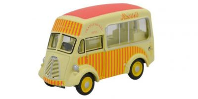 OXFORD 1/76scale MORRIS J ice cream van Rossi's  [No.OX76MJ003]