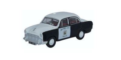 OXFORD 1/76scale Maurice Oxford monkey Ford police car  [No.OX76MO006]