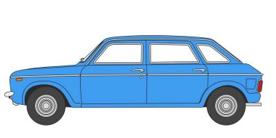 OXFORD 1/76scale Austin Maxi Pageant Blue  [No.OX76MX004]