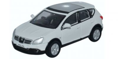 OXFORD 1/76scale Nissan Qashqai (Dualis) White  [No.OX76NQ004]
