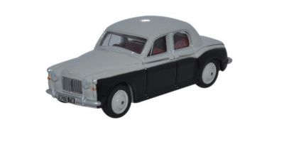 OXFORD 1/76scale Rover P4 Smoke Grey / Black  [No.OX76P4001]