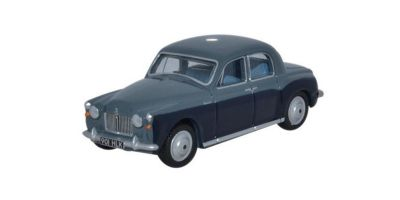 OXFORD 1/76scale Rover P4 Steel Blue / Light Navy  [No.OX76P4002]