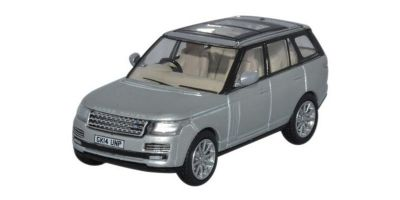 OXFORD 1/76scale Range Rover Vogue 2013 Indus Silver  [No.OX76RAN004]