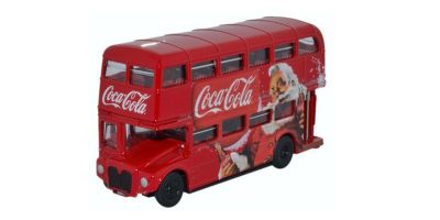 OXFORD 1/76scale Routemaster 2 decker bus Coca-Cola Xmas2016  [No.OX76RM114CC]