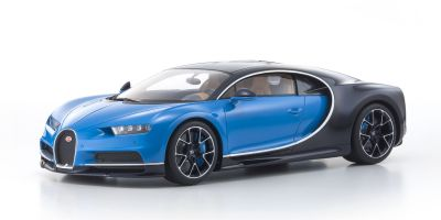 KYOSHO 1/12scale Bugatti Chiron Blue/Dark Blue  [No.KSR08664BL]