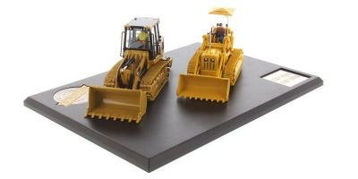 DIECAST MASTERS 1/50scale Evolution Series Cat 977D Track Loader & 963K Track Loader (2-Car Set) with booklet (44P)  [No.DM85559]