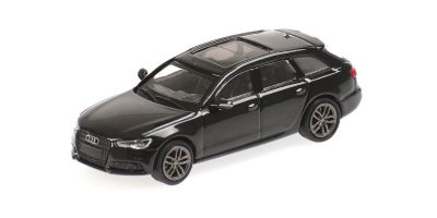 MINICHAMPS 1/87scale Audi A6 Avant 2018 Black  [No.870018110]