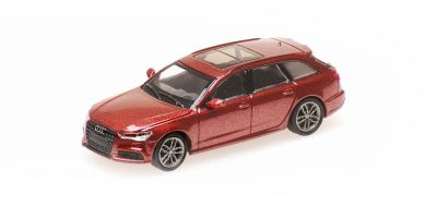 MINICHAMPS 1/87scale Audi A6 Avant 2018 Red Metallic  [No.870018114]