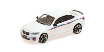 MINICHAMPS 1/87scale BMW M2 2016 WHITE PRESENTATION  [No.870027006]