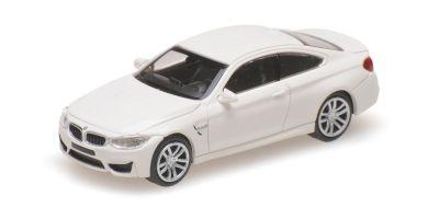 MINICHAMPS 1/87scale BMW M4 – 2015 – WHITE  [No.870027204]
